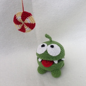 Om Nom from Cut the Rope